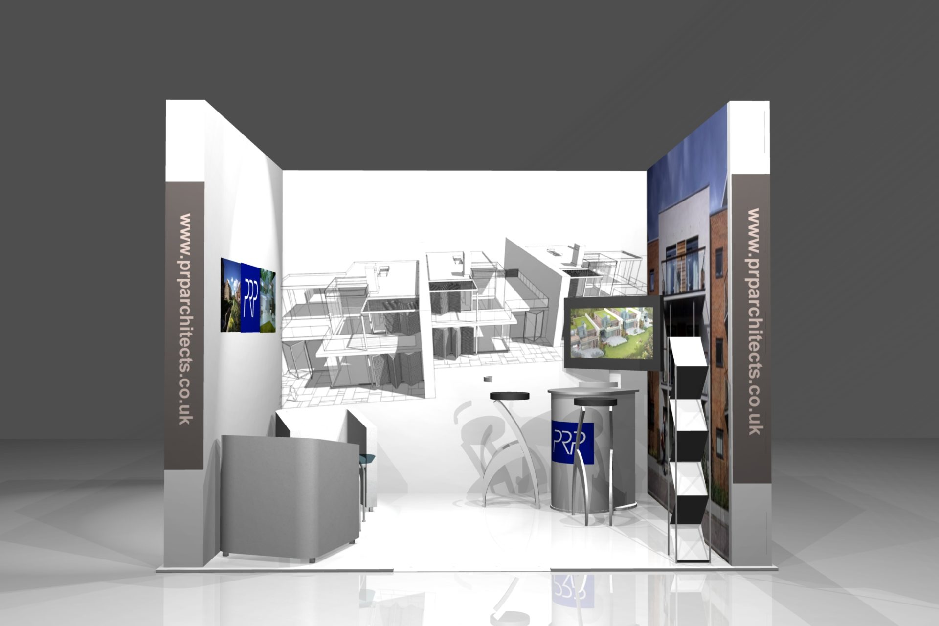 Small Modular Exhibition Stands : Stand portfolio exhibition services london modular
