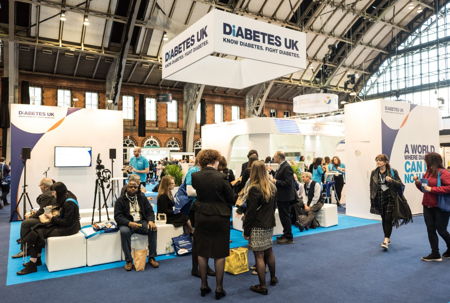 Exhibition Stand Contractors Uk : Event services year milestone with diabetes uk