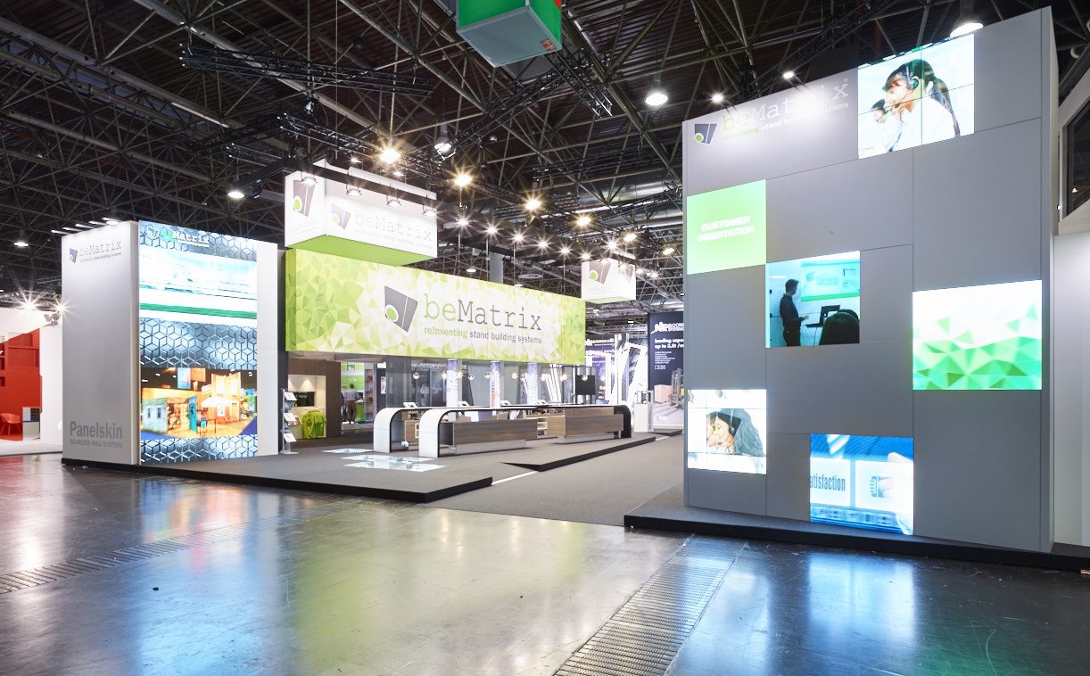 Exhibition Stand Rental London : Led technology lightboxes exhibition services london
