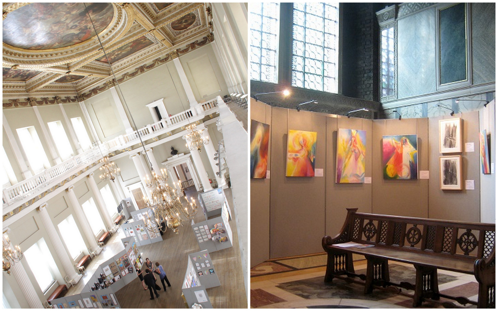 Display Stand Hire London : Display board hire and historic venues exhibition