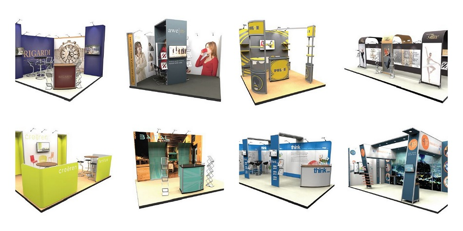 Modular Exhibition Stands Election : January news with the latest modular concepts for