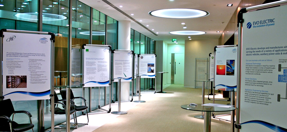 Modern Exhibition Stand Hire : Display frame hire exhibition services london
