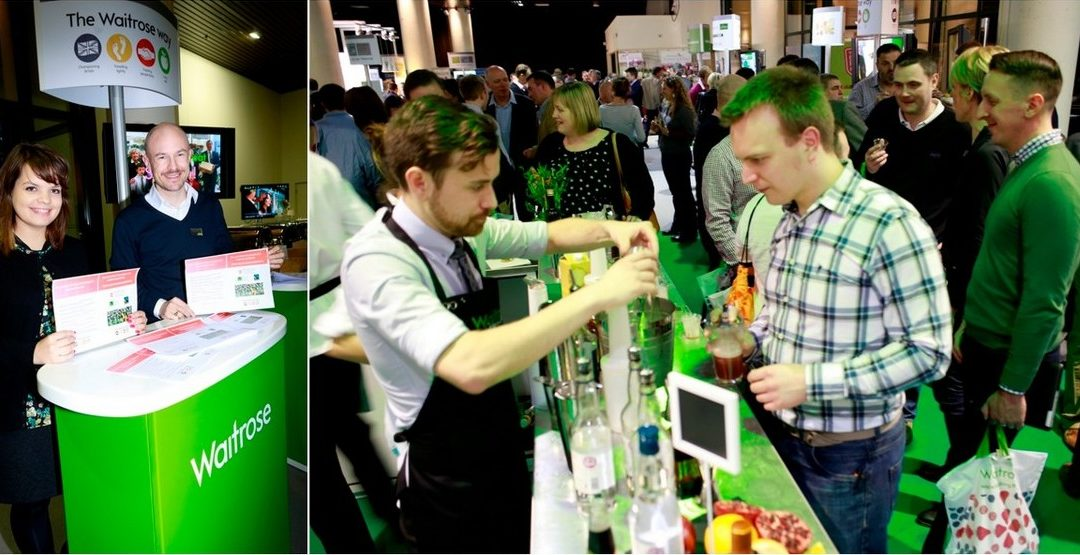 Interactive website |Waitrose 'Micro Stands'|Showroom Experience