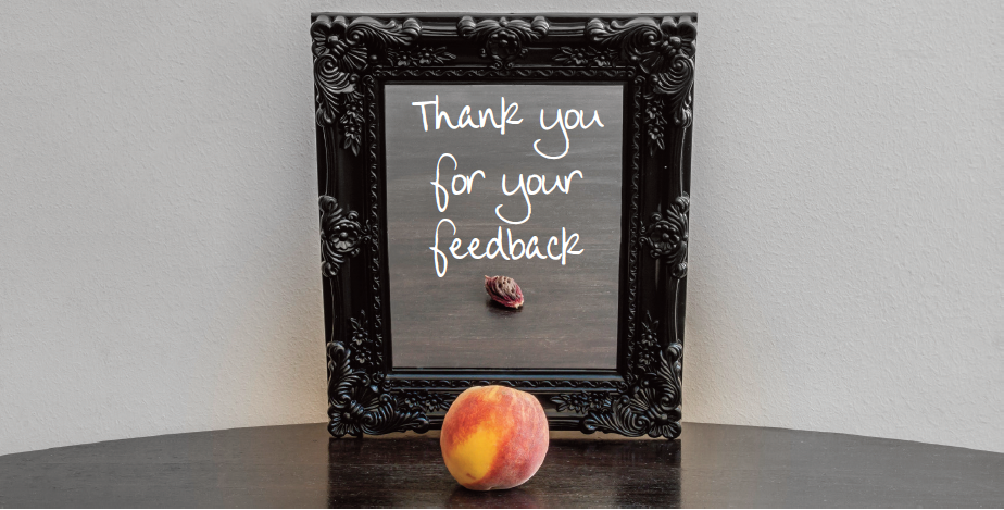 You said everything looked peachy, thank you.