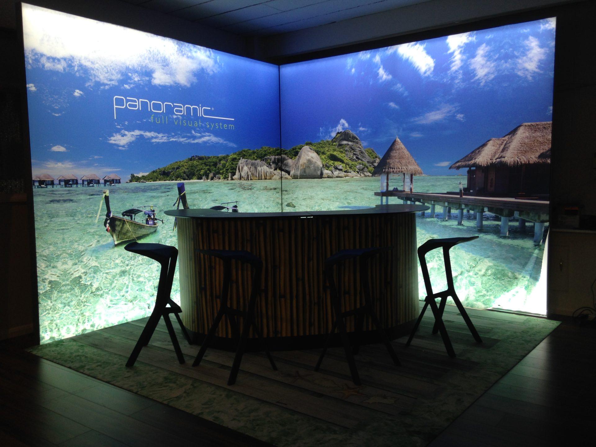 Exhibition Stand Textile : Led technology lightboxes exhibition services london