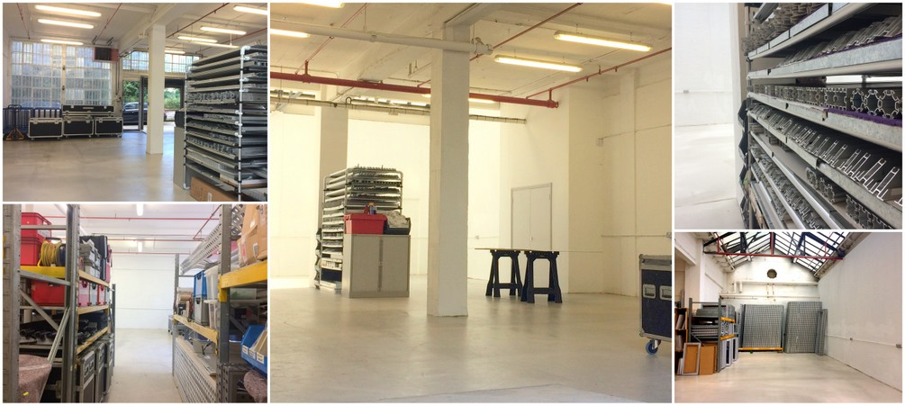 Going large with our new creative warehouse space