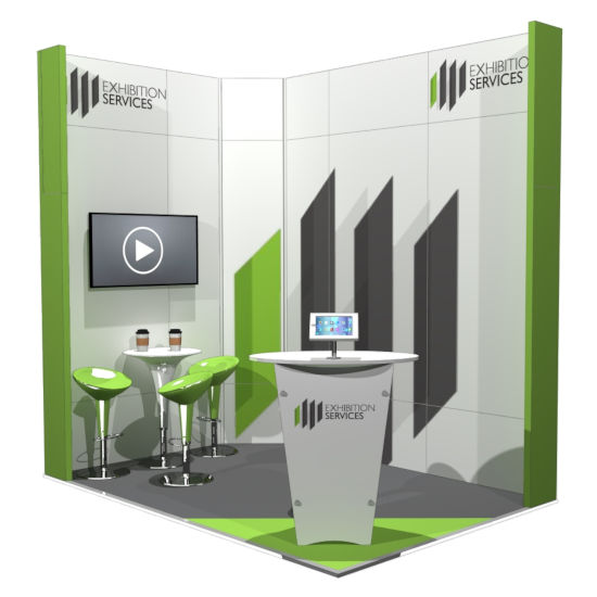 Small Exhibition Stand Years : Stand design & build exhibition services london modular stands