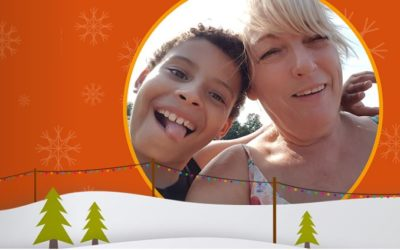 Our Christmas card that gives back