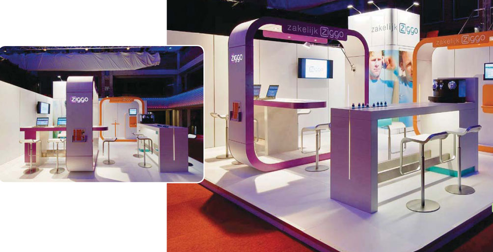 Modular Exhibition Stand For : Bematrix our new stand build system is attracting lots